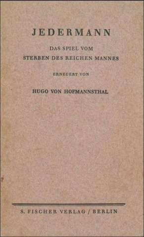 Cover_Hofmannsthal_Jedermann_PrivatexemplarEvyFriedrich